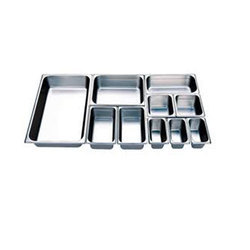 Stainless Steel GN Pans, Usage: Hotel/Restaurant