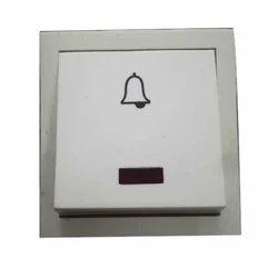 nescon door bell switches, rs 35 piece, nescon electricals idnescon door bell switches