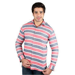 Full Sleeves Casual Striped Shirt