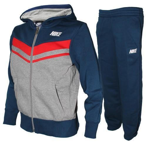 Blue And Grey Jogging Track Suit