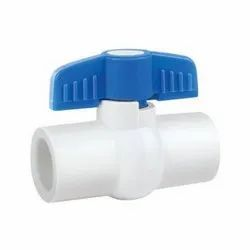Screwed Plastic Ball Valve, For Water