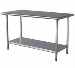 Stainless Steel Working Table, For Restaurant