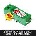 Circuit Breaker Lockout PIN IN Slider