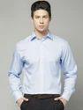 Mens Full Sleeve Formal Light Blue Shirts