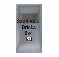 Sand Blast Bricks Silicone Plastic Paver Mould