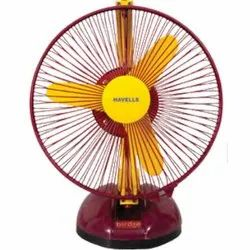Birdie Yellow and Maroon Personal Fan