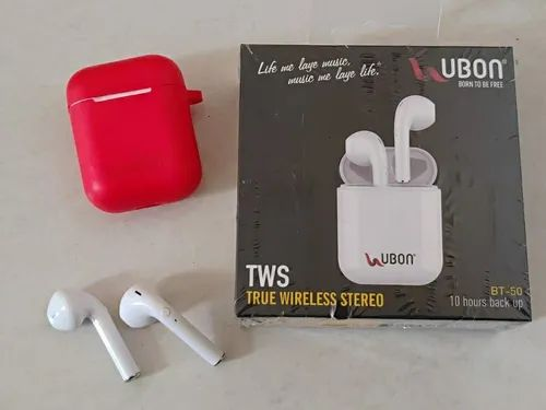 Ubon Airpods I7 I9s Battery Backup 10 Hrs Tws Sound Small Size At