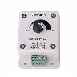 12-24V Power Saver 8A LED Light Dimmer Brightness Adjustable Control Controller White