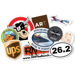 Text and Photo pritning Vinyl Sticker Printing Service