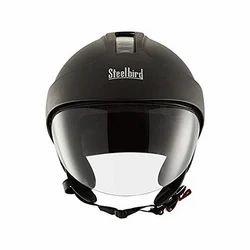 Open Face Peak Helmet