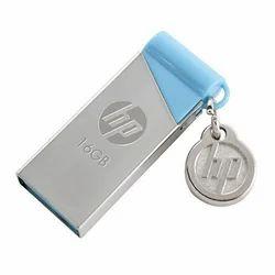 Metal Gray, Blue Pen Drive, Memory Size: 16 Gb
