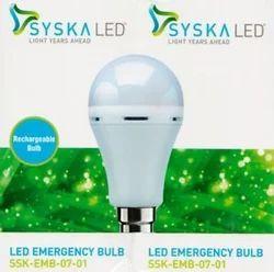 SYSKA LED Rechargeable Emergency_Bulb_Emergency Light_white Emergency  Light