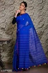 Pure Handloom Soft Cotton Sarees