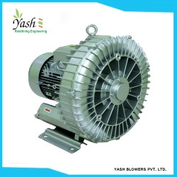 Metal Alloy Single Stage Turbine Blower for Water Treatment Plant, Power: 0.5 to 33 hp