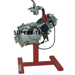 Cut Sectional Model of Four Stroke Single Cylinder Engine