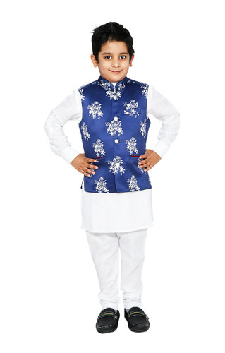 05d99bcef ... party wear and any special occasions. Kids Kurta Pyjama With Jacket Set