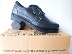 Callibers White Stitching Safety Shoes
