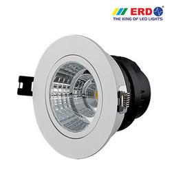 3W LED COB Spotlight Round