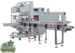 Automatic Pet Bottle Shrink Bottle Wrapping Machine (Capacity: 90 - 120 BPM)