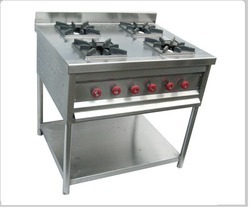 Four Burner Continental Gas Range