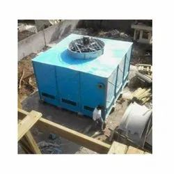 Fiberglass Reinforced Polyester Closed Loop FRP Square Shape Cooling Towers, Forced Draft, Cooling Capacity: 10 Tr - 1000 Tr
