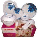 Gold Melamine Dinner Set