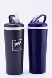 Blue,Black Plastic Insulated Sipper Bottle, Capacity: 500 Ml