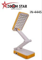 LED Plastic iN-444S Emergency Study Lamp Rechargeable Lamp
