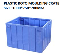Roto Molded Plastic Crate