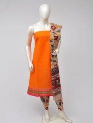 Regular Wear Cotton Woven Trendy Dress Material