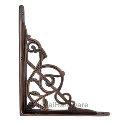 Abiathar Brass Shelf Bracket
