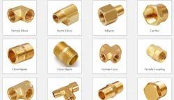 PBI Brass Fitting, Size: 1 x 1/2 inch