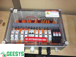 Solar Array Junction Boxes 4in 1out