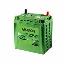 Amaron Battery AAM GO-0BH38B20R, Voltage: 12 V