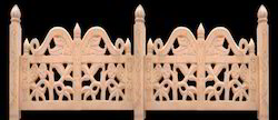 Sandstone Jali Railings