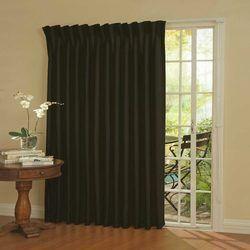 Silk Plain Fancy Window Curtain