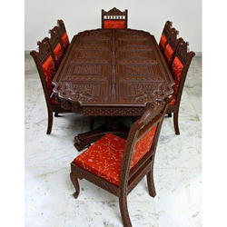 Carving Dinning Table