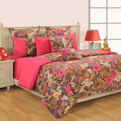 Swayam Colors of Life Printed Cotton Double Comforter - Multicolor