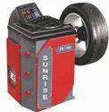 Video Graphic Wheel Balancer