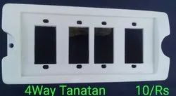 4 Way Tanatan Multipurpose Gang Box Board