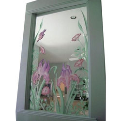 Decorative Stained Glass Mirror