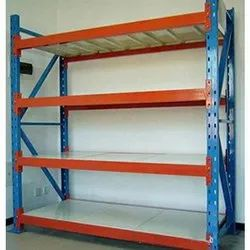 6 Feet Free Standing Unit Slotted Angle Rack 1, For Ware House