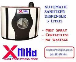 NIXA Automatic Sanitizer Dispenser 5 Litres
