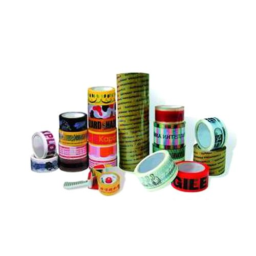 Printed BOPP Tape, for Packaging, Adhesive Type: Single Sided