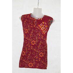 Jaipuri Print Women Cotton Tops