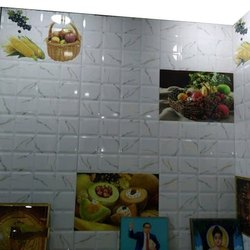 Cera Ceramic Mosaic Kitchen Digital Wall Tiles, Thickness: 0-5 mm