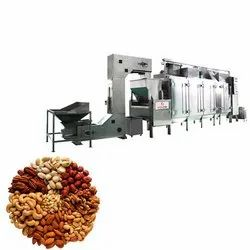 Dry Fruit Continuous Roasting Machines