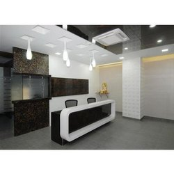 Office Reception Interior Designing