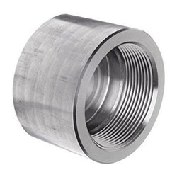 Stainless Steel Pipe Cap, For Industrial, Head Type: Round