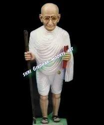 Mahatma Gandhi Ji Standing Statue with Stick